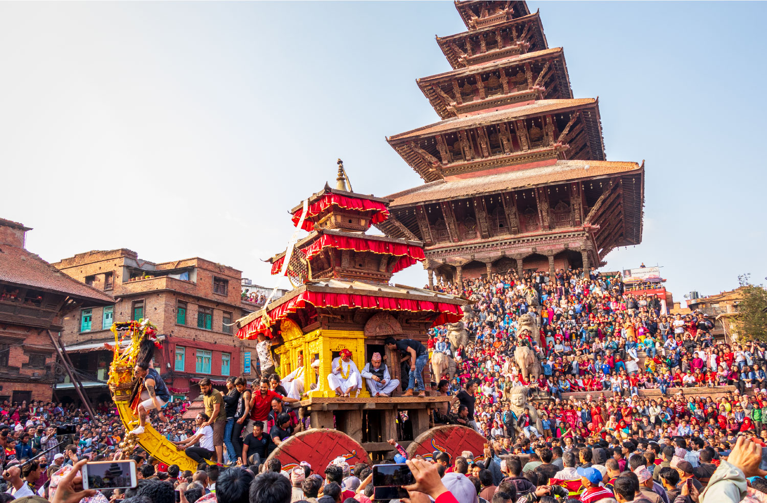 Bisket Jatra; the most dangerous festival of Nepal image