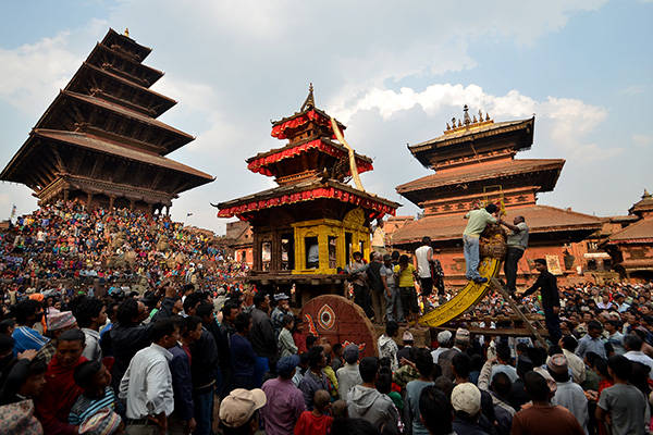 Biska Jatra : a fusion of tradition and sole image