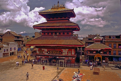 Bhairavnath temple; the most reputable and darkest temples of Bhaktapur image