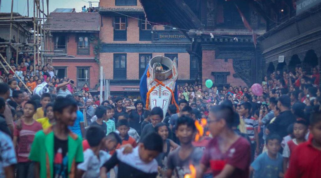 Pulu Kishi in Indra jatra