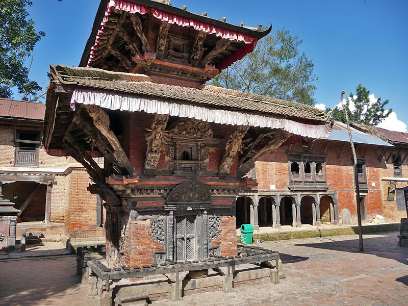Kileshwor Mahadev Temple; A Shiva temple on the premises of Changu image