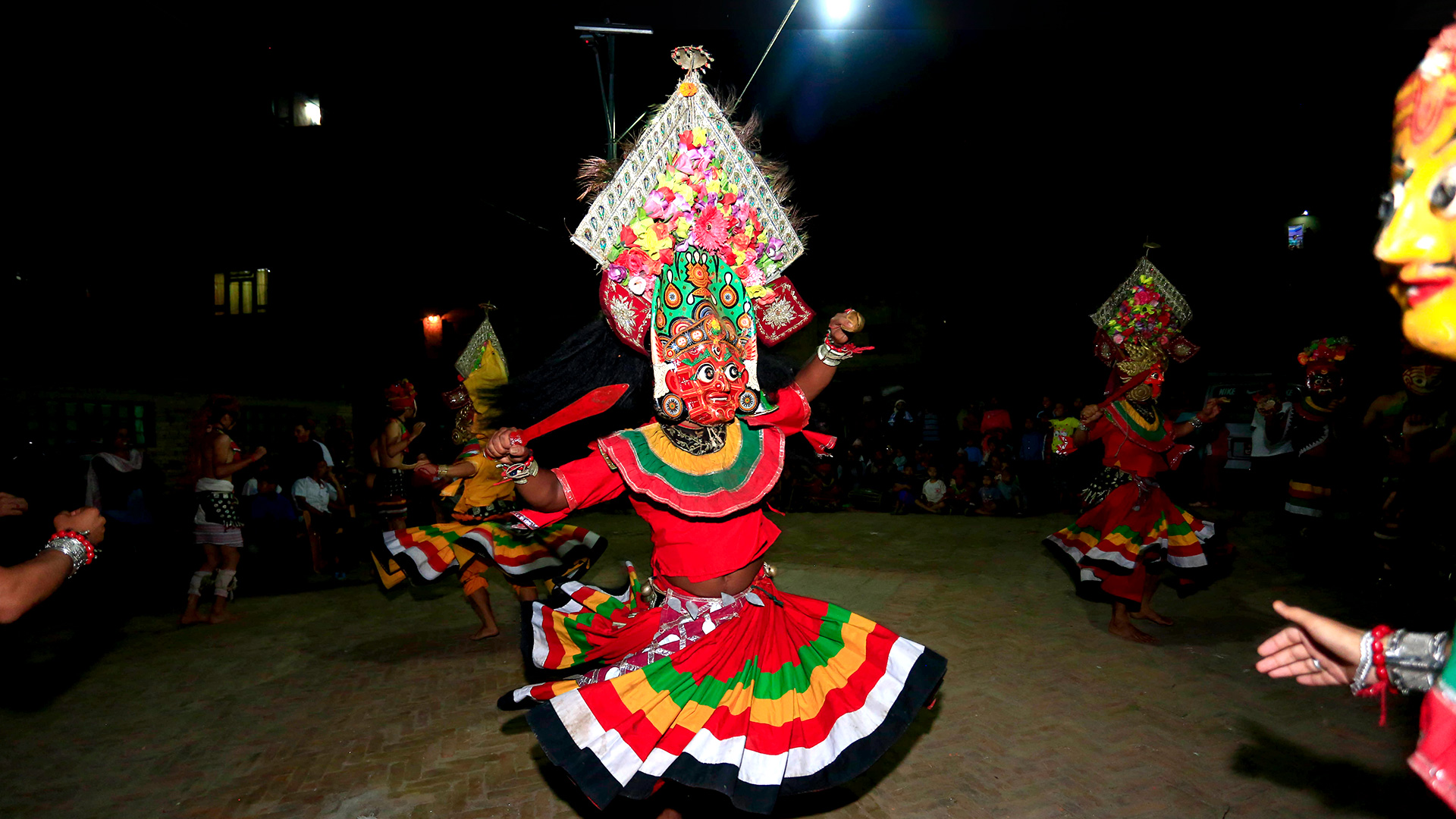 How about getting some knowledge about traditional dance forms of Bhaktapur image