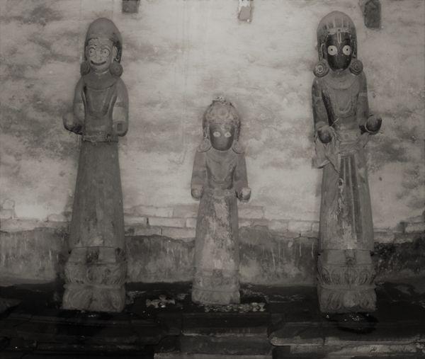Jagannath temple; the temple of wooden Krishna image