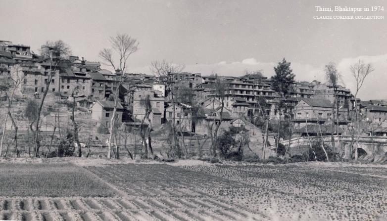 Barahaisthan, Bhaktapur in 1974 image