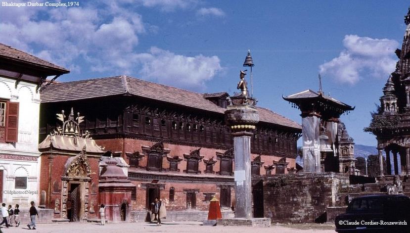 Bhaktapur Duabar Square in 1974 image