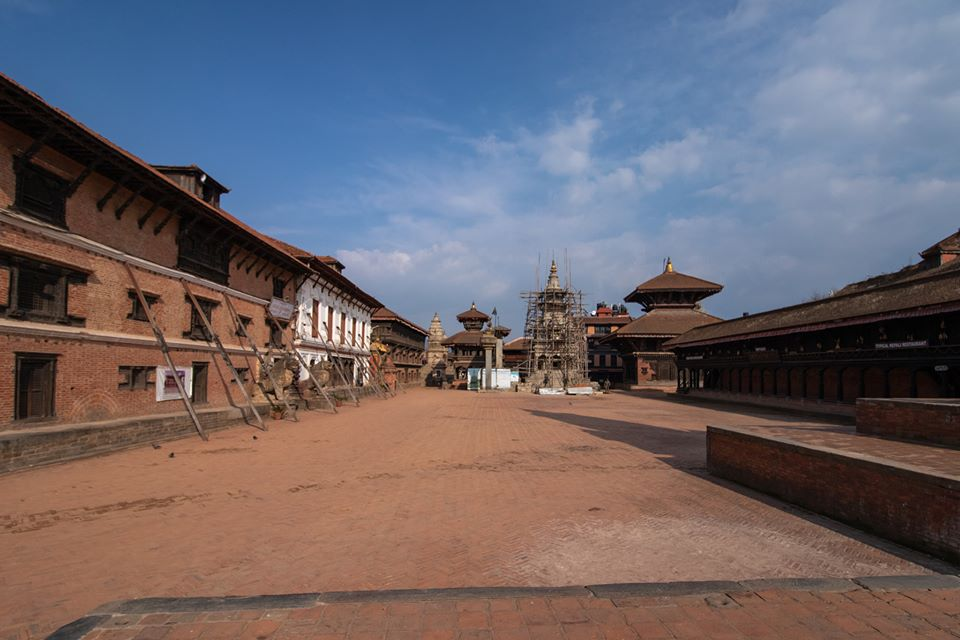 Bhaktapur Durbar Square during Lockdown image