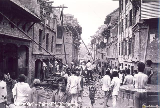 Chasukhel Golmadhi during 2045bs earthquake image