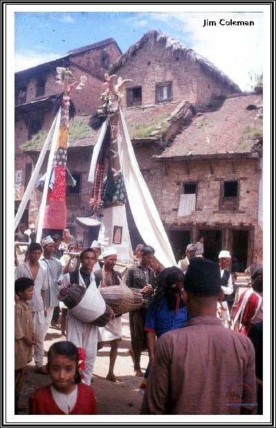 Gai jatra/Saparu around 1969 image