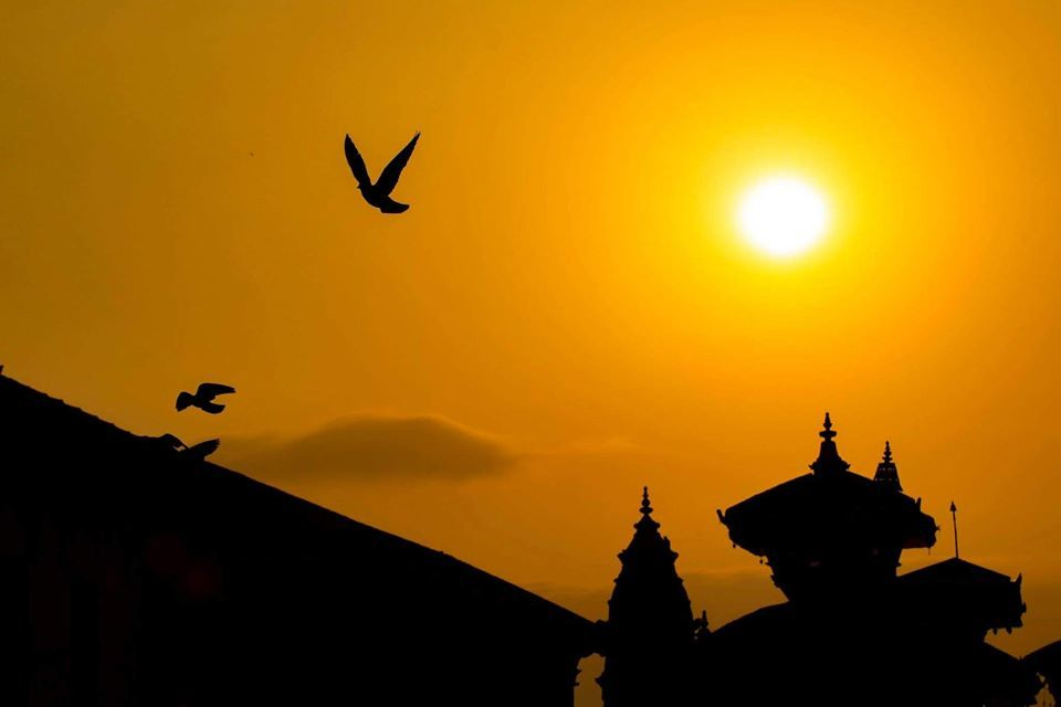 Morning view of bhaktapur Durbar Square image