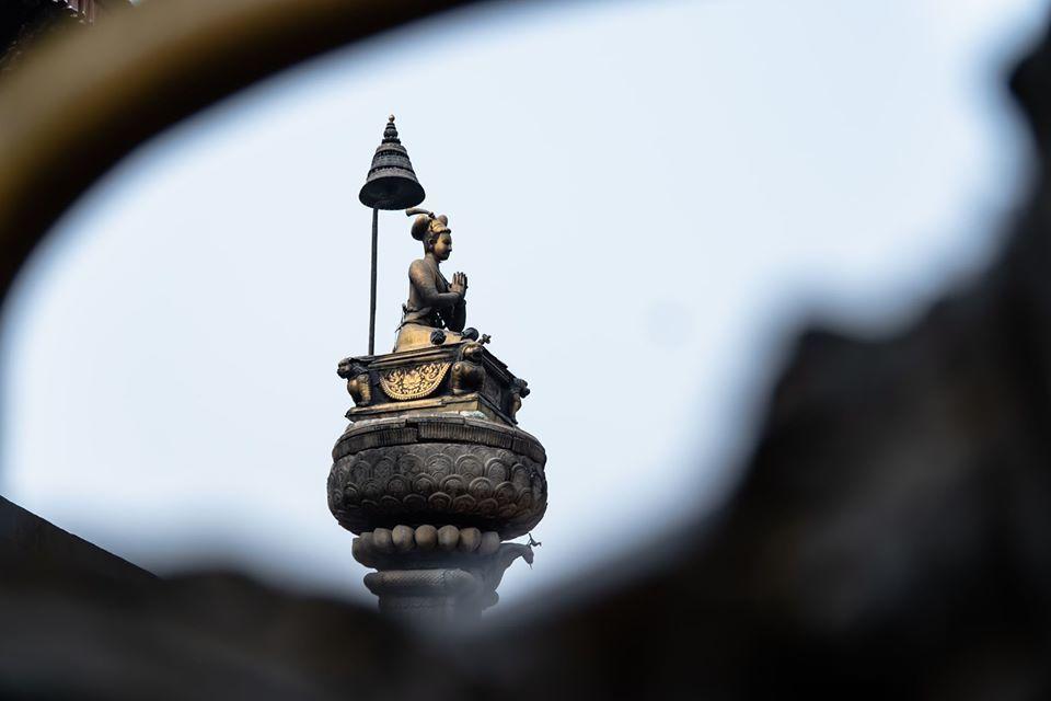 Most magnificent statue King Bhupatindra Malla image