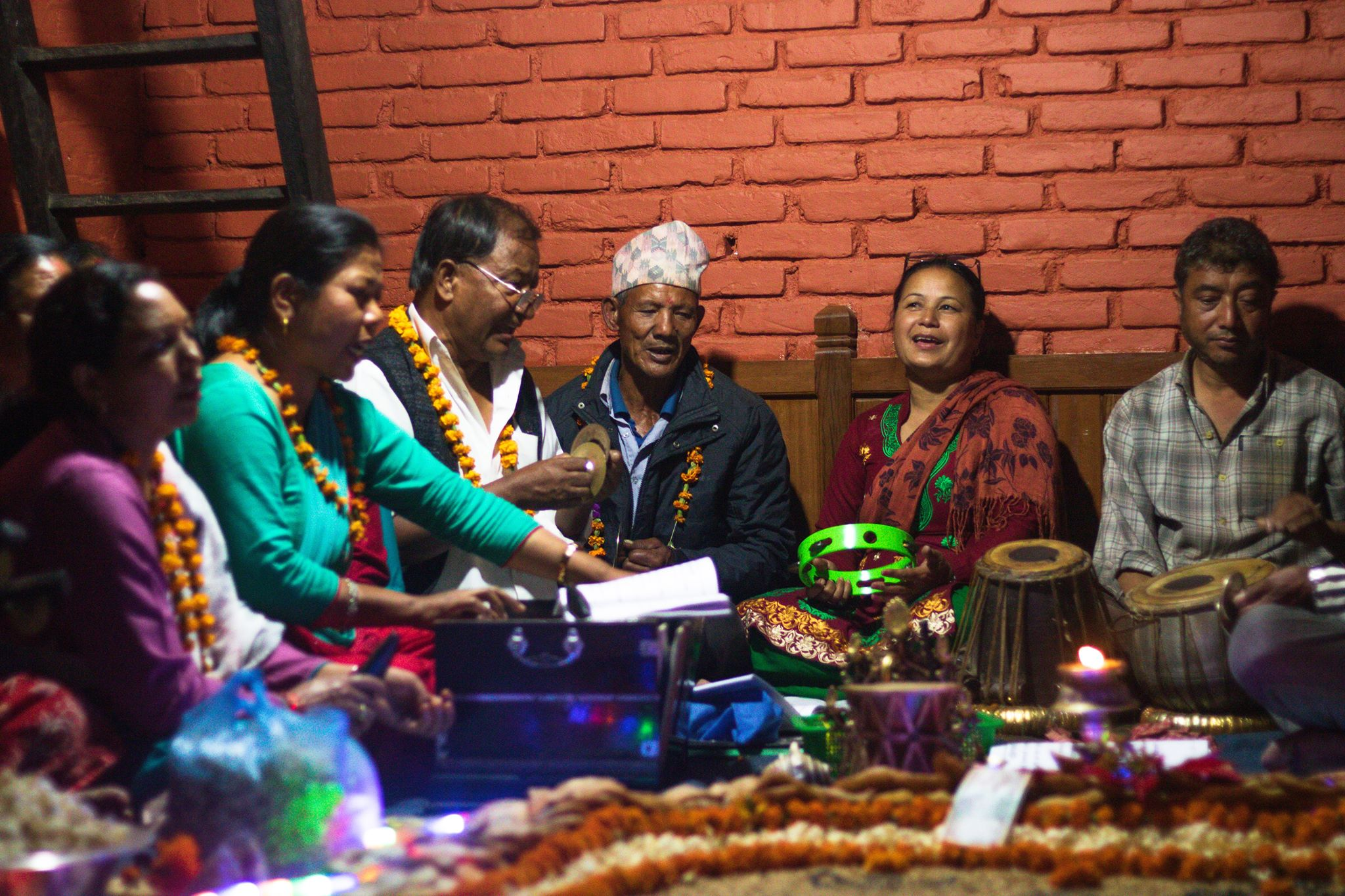 Some traditional newari songs image