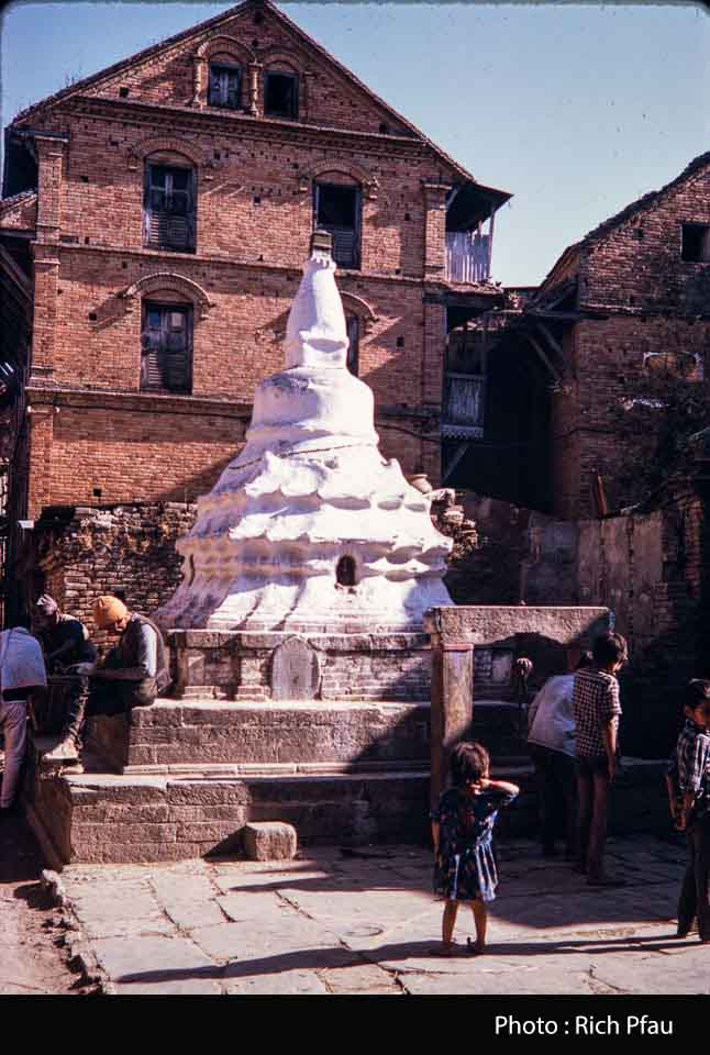 Small Buddhist stupa of Golmadhi image