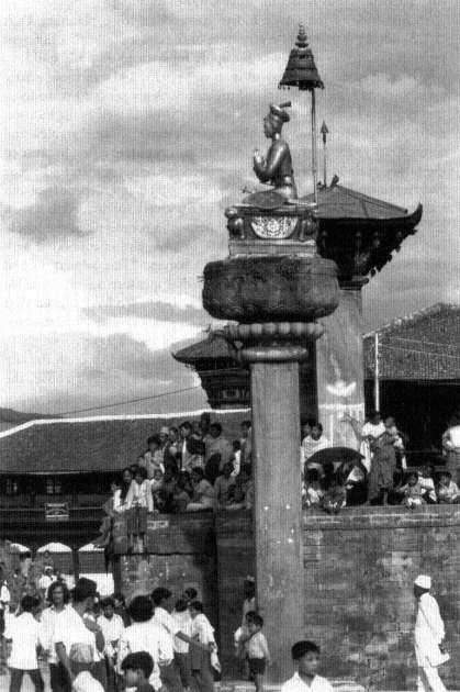 Statue of King Bhupatindra image