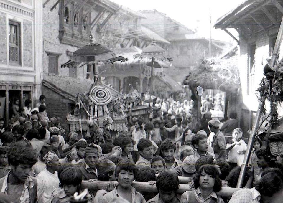 Sunthasiya Biska Jatra Thimi, early 80s image