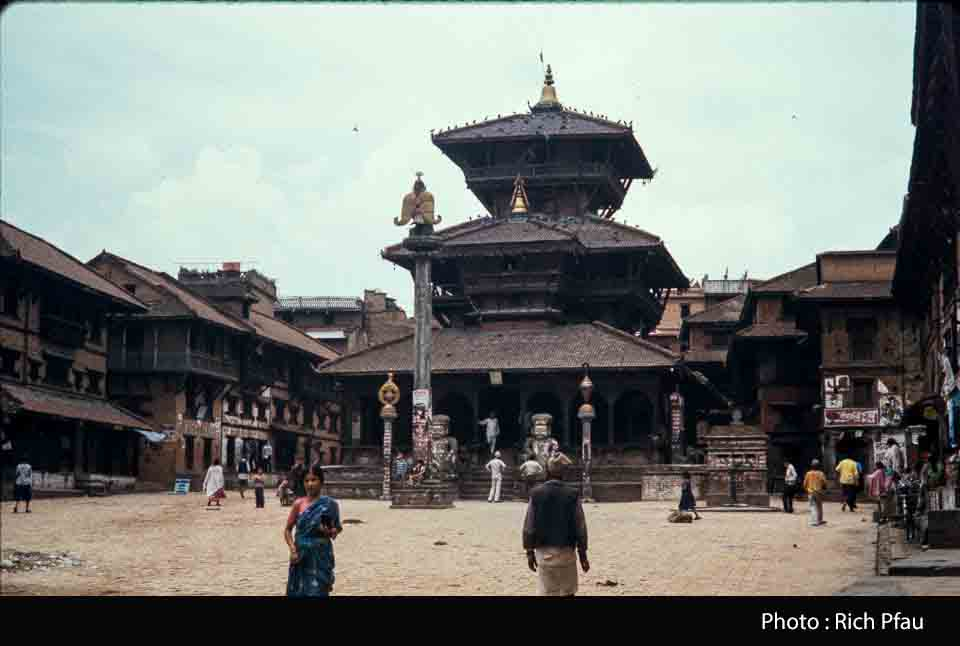 Dattatreya Temple in 1991 image