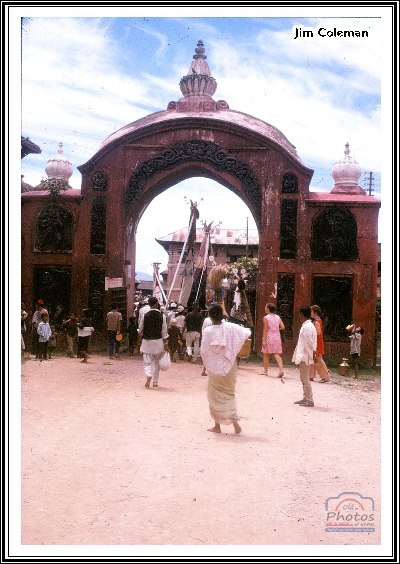 gai jatra/Saparu around 1969 in durbarsquare image