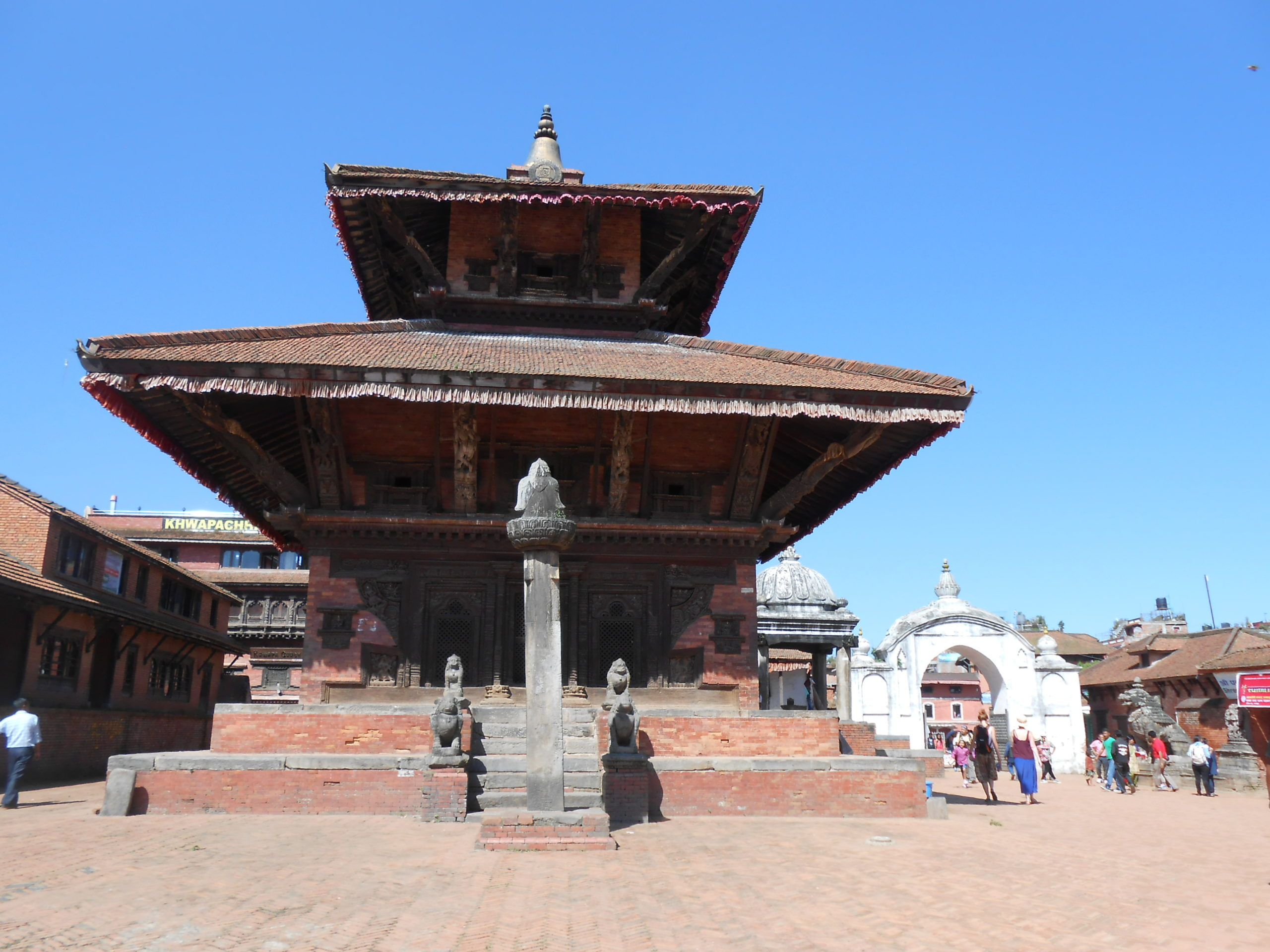 Gopinath temple; the perfect pagoda of Bhaktapur Durbar Square image