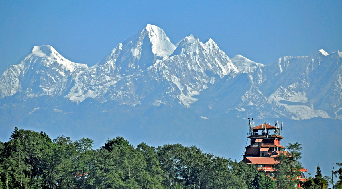 Nagarkot: the highest point of Bhaktapur (2,175m) image
