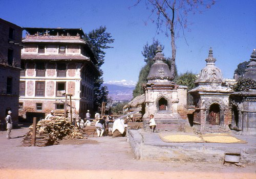 old indrayani bhaktapur 1968 image