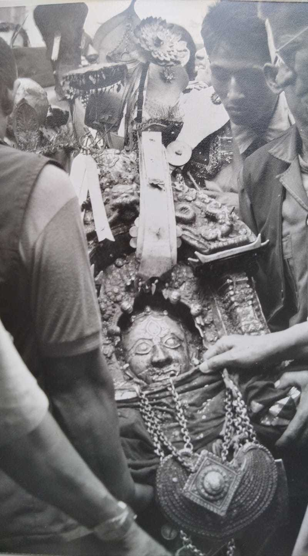 Head of Bhairabnath image