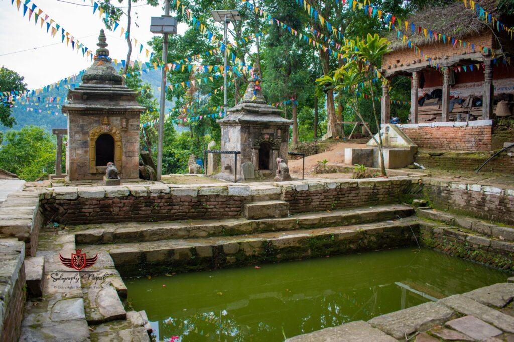 a holy pond at anantalingeshwor