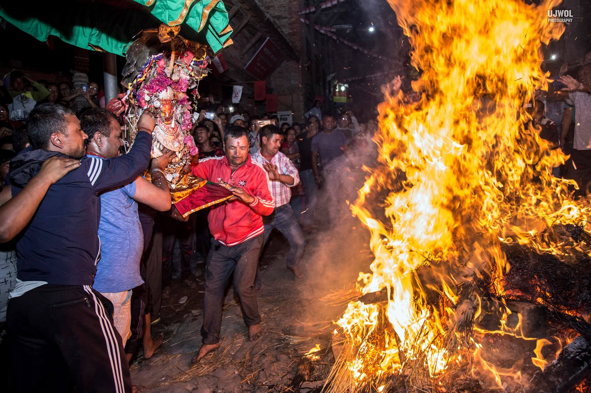 Chandeswori Jatra; a local festival of Bhaktapur image