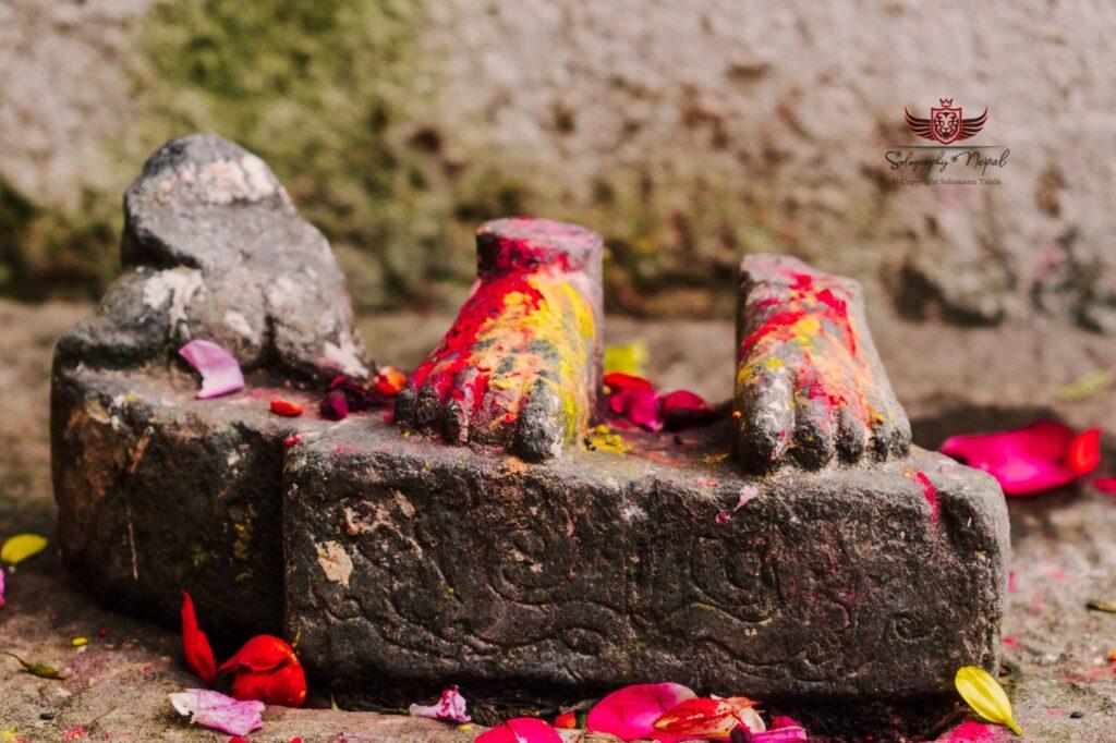 footprints at anantalingeshwor
