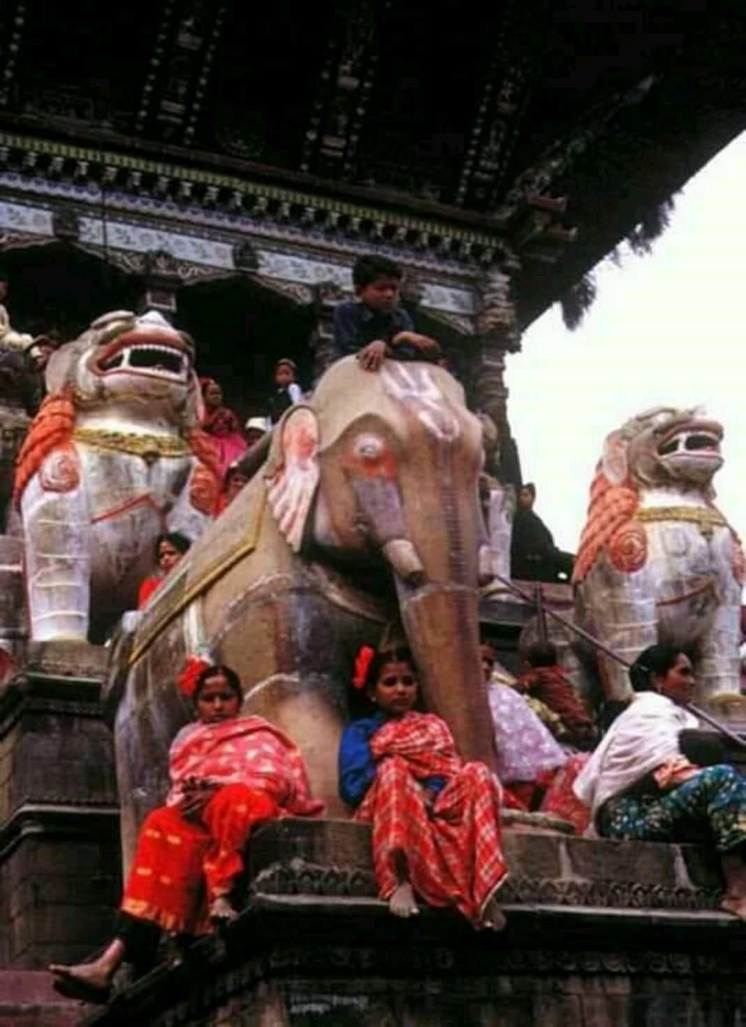 Staircase of Nyatapola Temple image