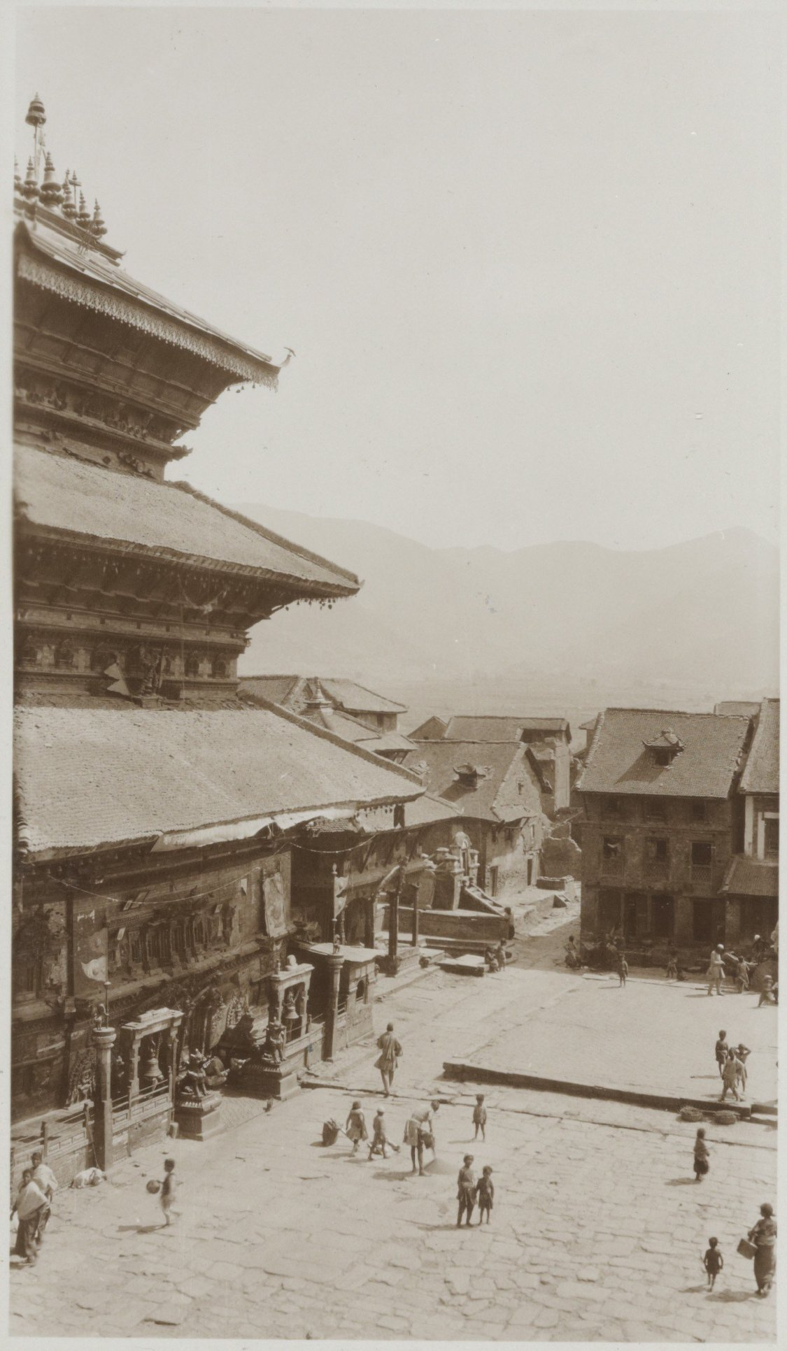 Bhairabnath Temple during 1932-34 image