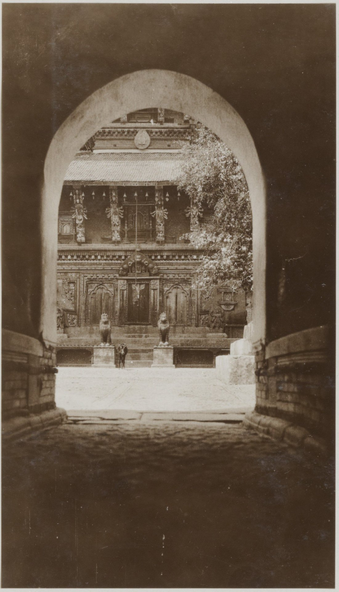 View from Entrance gate (Changu Narayan Temple) 1932-34 image