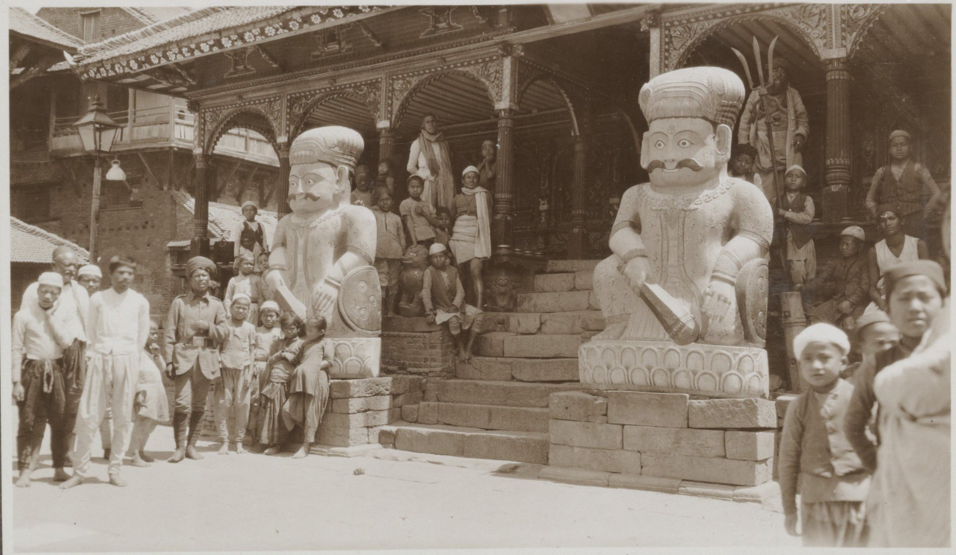 Two Kutuwo's of Dattatreya Temple 1932-34 image