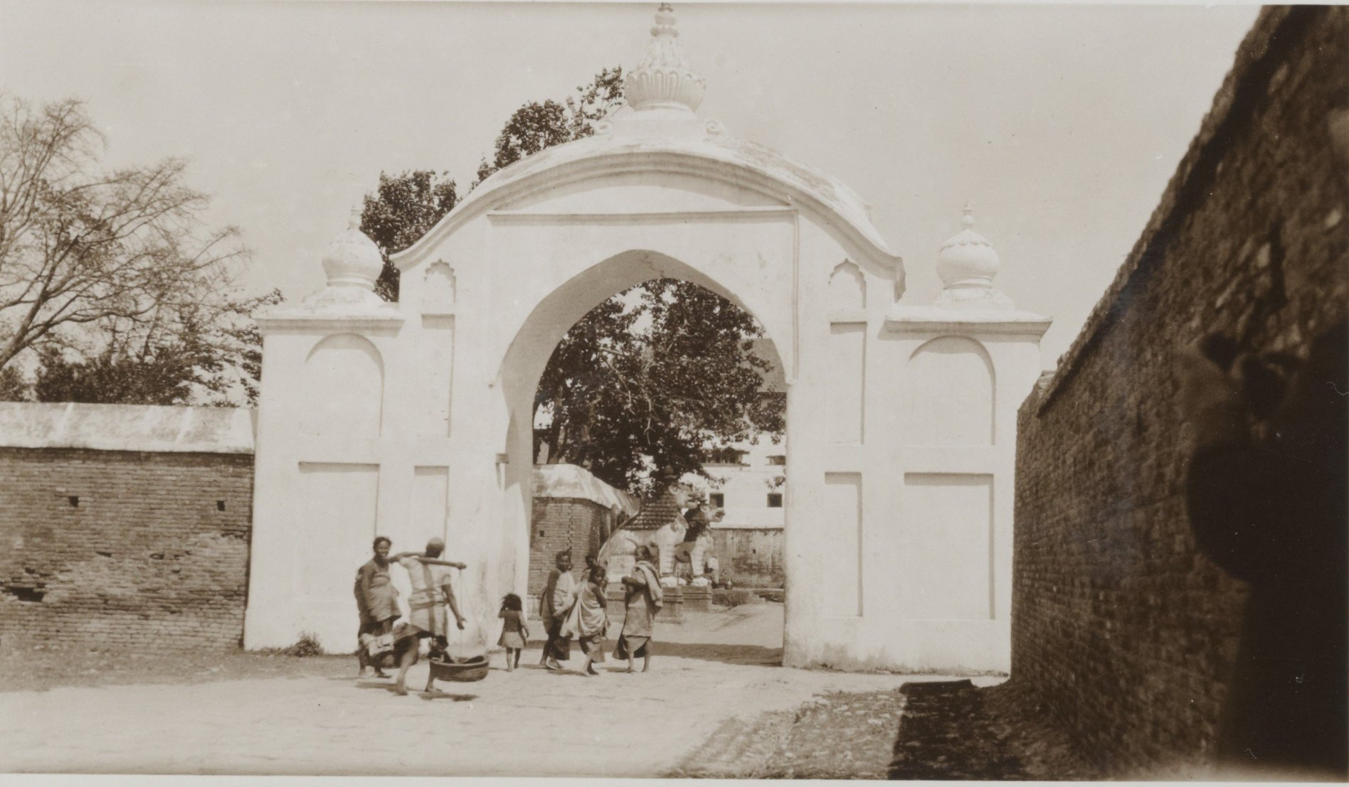 Durbar Square Entrance gate 1932-34 image