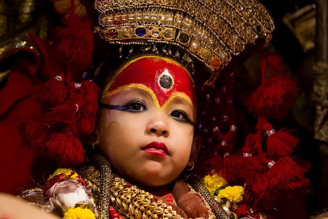 Kumari: the incarnation of most fearsome deity, Shiddhi Laxmi image