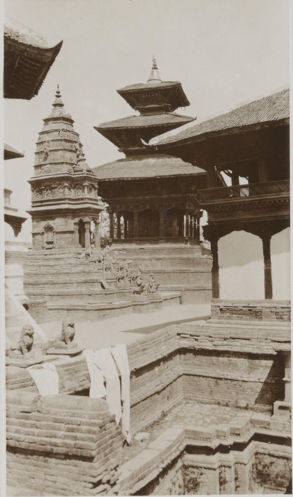 Siddhi Laxmi Temple and Lanpadegal 1932-34 image