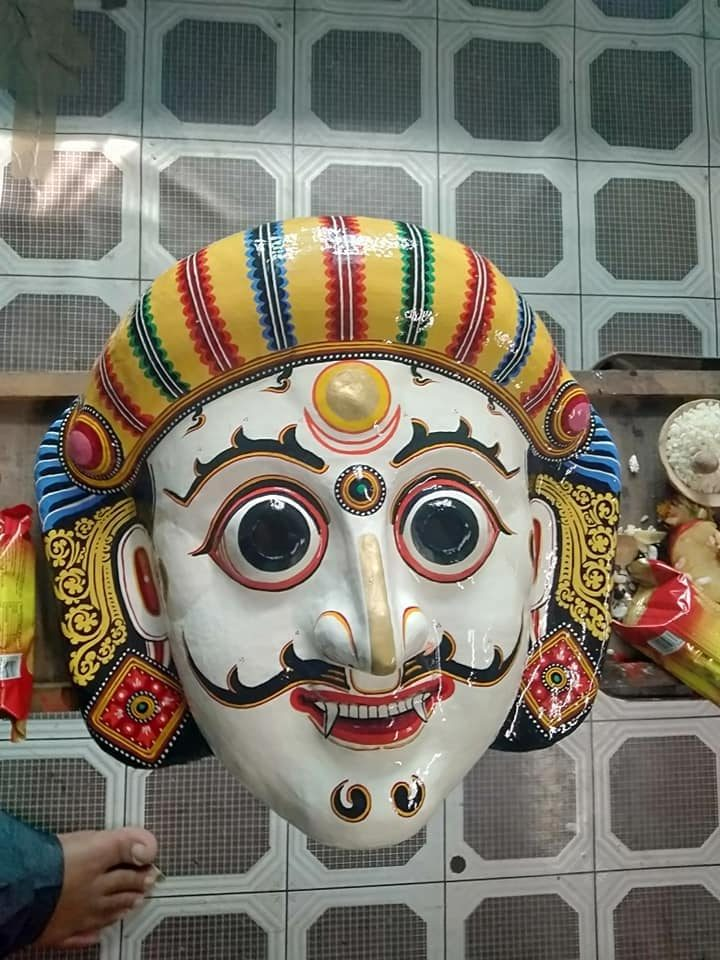 Mask of Swet Bhairav image