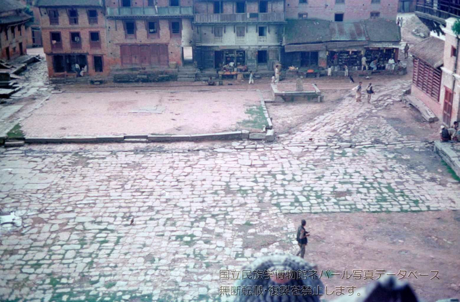 Taumadi Square, Bhaktapur 1958 image