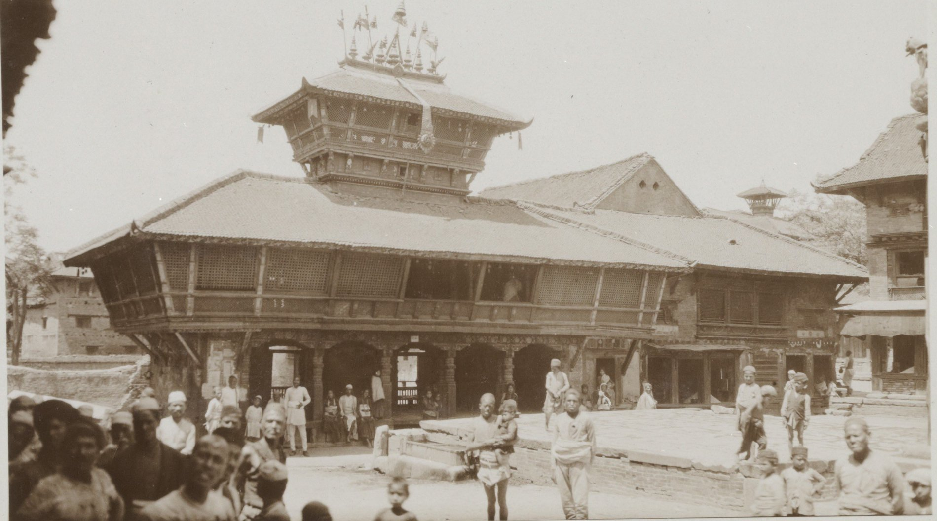 Bhimsen temple: the temple of trade master image