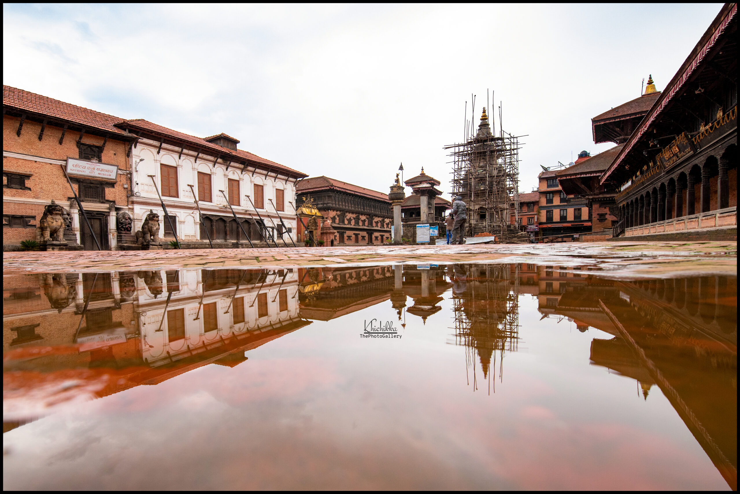 """""""Welcome to cultural city- Bhaktapur""""-the brochures of Bhaktapur image"""