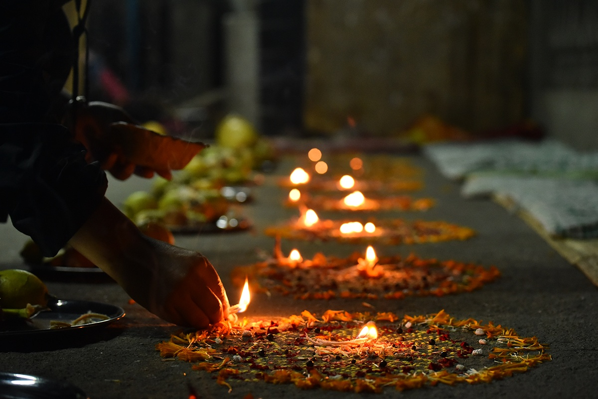 Mha Puja; Beginning of the Nepal Sambat image