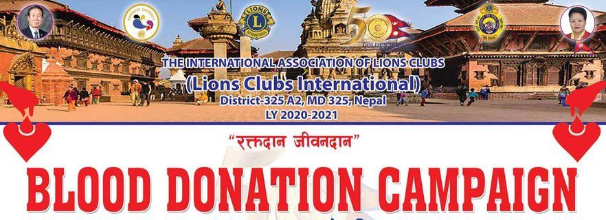 Blood Donation Program at Bhaktapur image