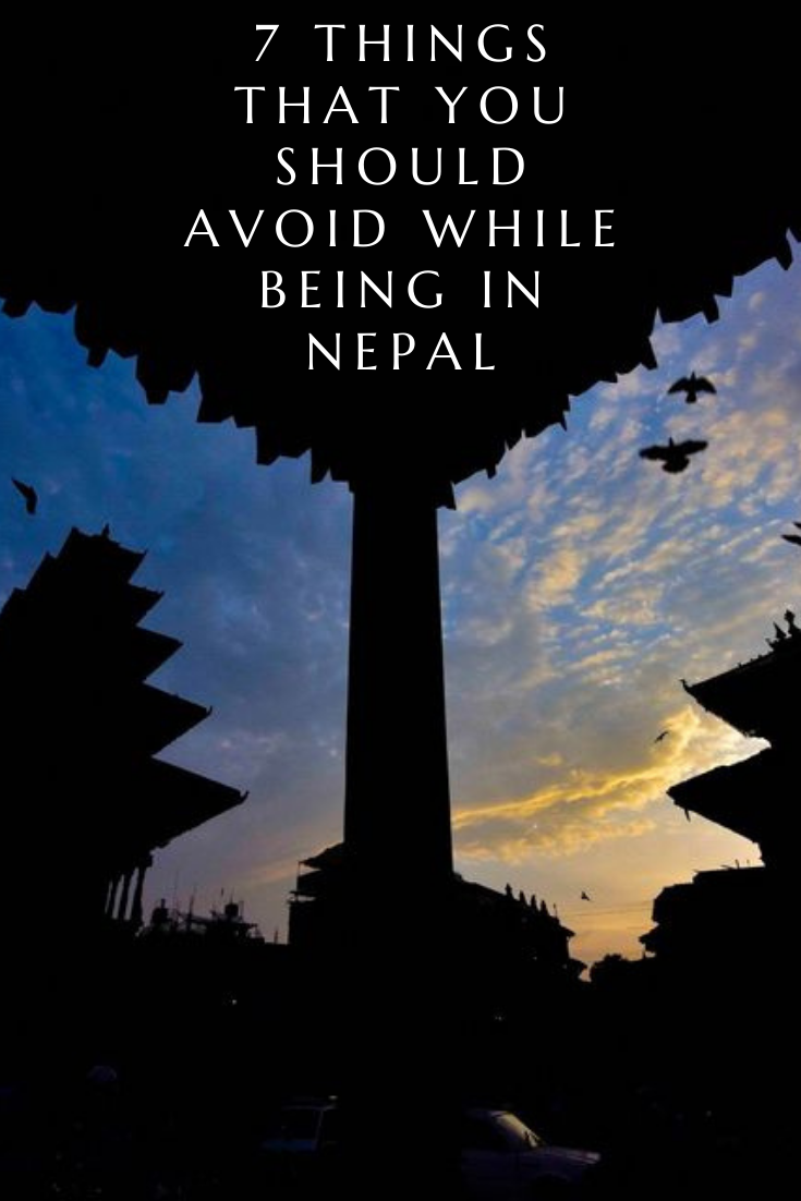 7 not to do things in Nepal image