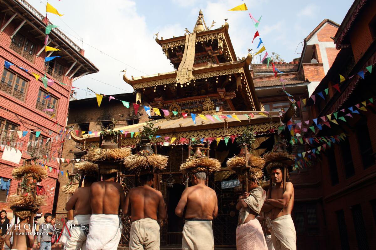 Madhav Narayan Festival in Bhaktapur image