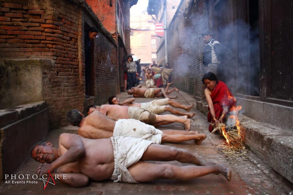 Madhav Narayan festival Bhaktapur