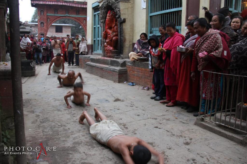 Madhav Narayan festival, Bhaktapur