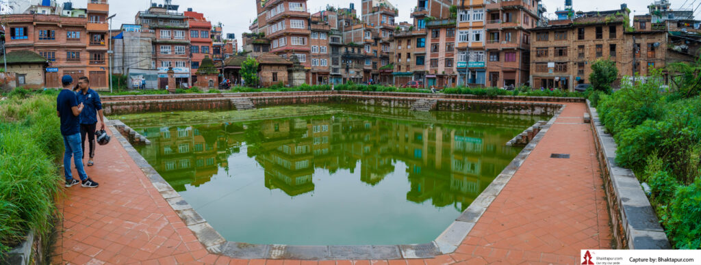 One of the nigoo Pukhu (two ponds)
