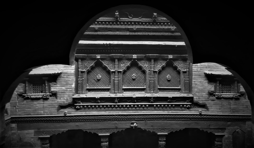 Wood carving museum of Bhaktapur, Nepal image