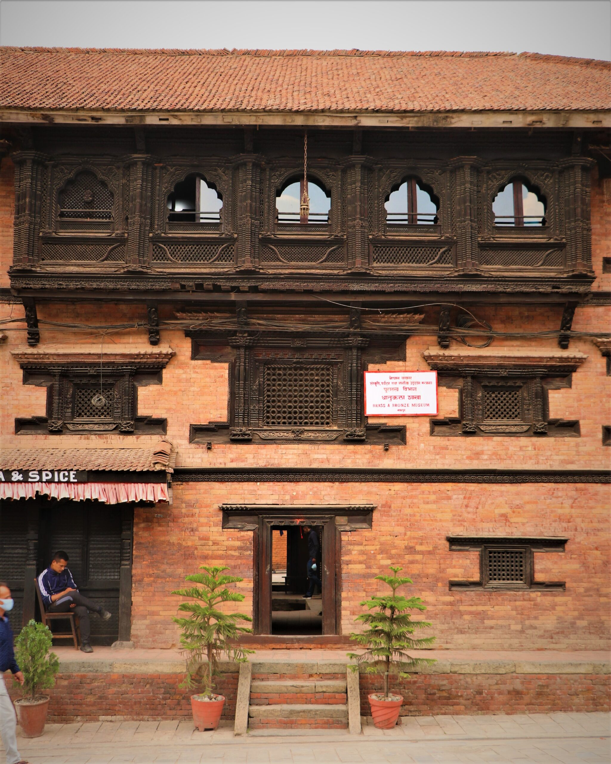 Brass and Bronze museum of Bhaktapur, Nepal image