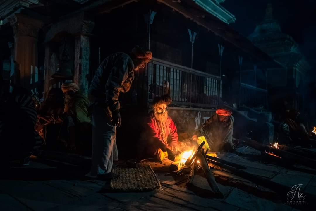 Sila Charhe; the night of Maha Shivaratri image