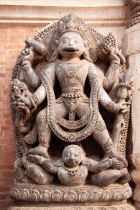 Statue of Hanumante Bhairav