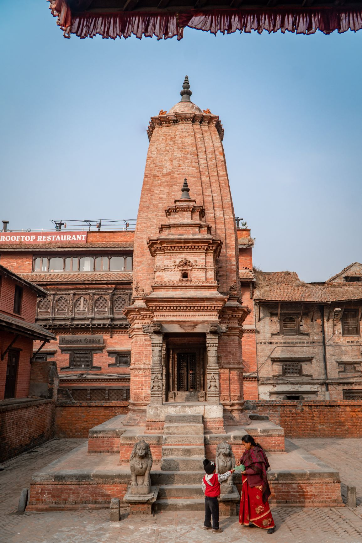 Badrinath temple; one out of the Char Dham temples of Bhaktapur image